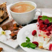 Кофе с пироженым, аромат-ароматизатор