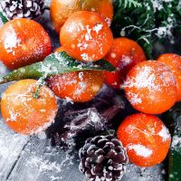 Новогодний мандарин, аромат-ароматизатор